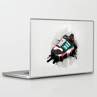 sneaker Laptop & iPad Skins featuring Sneaker by Nicu Balan