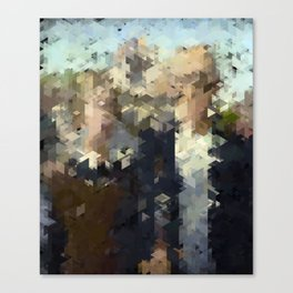 Panelscape Iconic - American Gothic Canvas Print