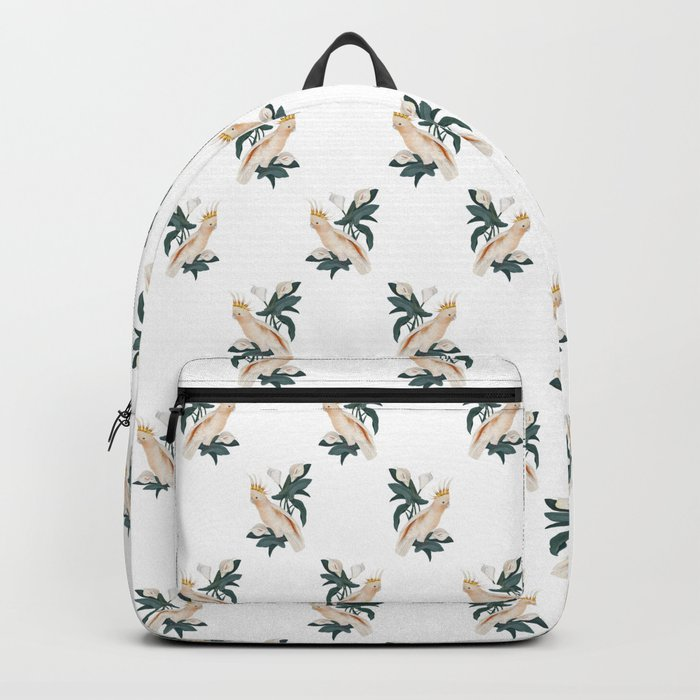Pink Cockatoo Backpack