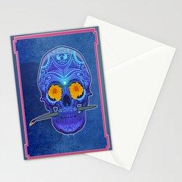 Sugar skull 3rd eye Stationery Cards