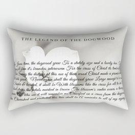 The Legend Of The Dogwood 6 Rectangular Pillow