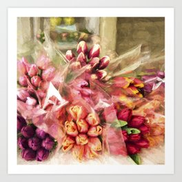 Spoken Without Sound - Flower Art Art Print