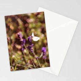 lavendel sommer Stationery Cards