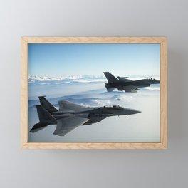 Air Force Fighter Jets Framed Mini Art Print