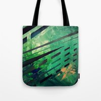 malachite Tote Bags featuring MALACHITE by Matt Schiermeier