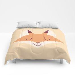 Minimal Fox Comforters