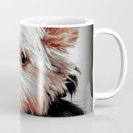 Sad Yorkie | Yorkies | Bad Day, Eh?! | Nadia Bonello Coffee Mug