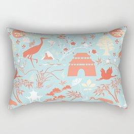 Asian Garden - Everything Has its Beauty Rectangular Pillow