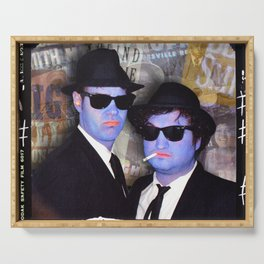 Blues Brothers Sepia Serving Tray