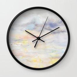 Tenderly Thunderous Wall Clock