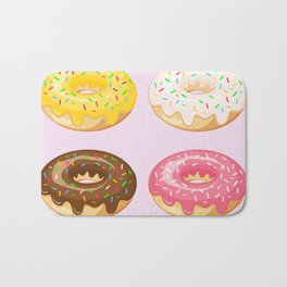 Donut Love Bath Mat