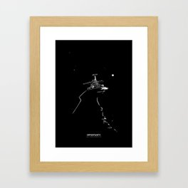 OPPORTUNITY Framed Art Print