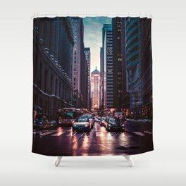 Chicago Street Shower Curtain