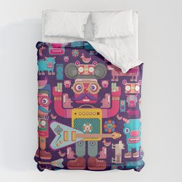 singpentinkhappy band Duvet Cover