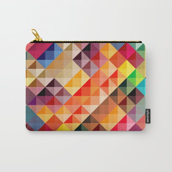 Abstract colorful Carry-All Pouch