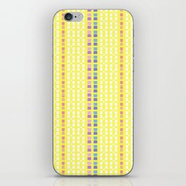 Lemon Mosaic iPhone Skin