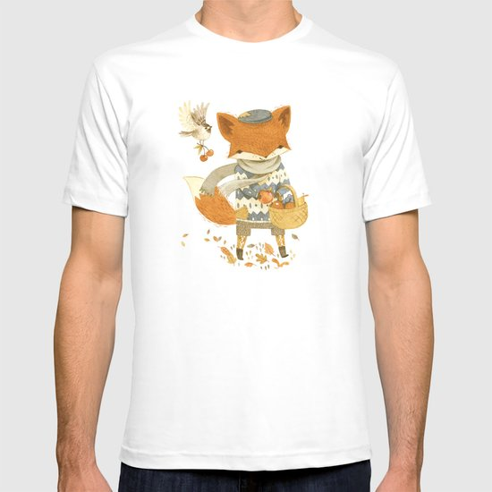 Fritz the Fruit-Foraging Fox T-shirt