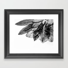 The Blackfish Camouflage Framed Art Print