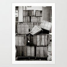 Stacks... Art Print