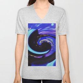 Swirling colors 01 Unisex V-Neck
