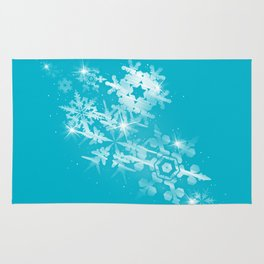 Snow Flakes of Hope Rug