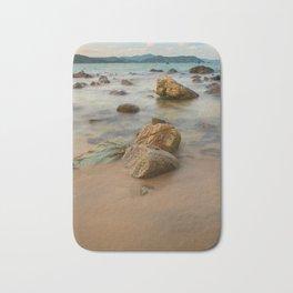 Rocky Coastline Vietnam Bath Mat