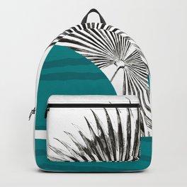 Minimal Mid Century Modern Bubble Backpack