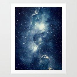Galaxy Next Door Art Print