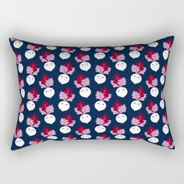 Cute white beetroots Rectangular Pillow