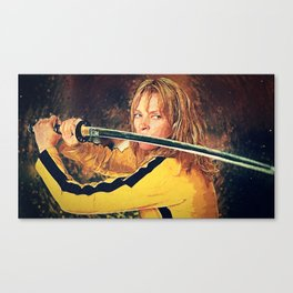 Beatrix Kiddo Canvas Print