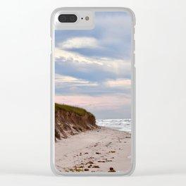 Michigan beach Clear iPhone Case