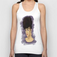 afro Tank Tops featuring Afro by Adelys