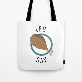 Leg Day Tote Bag
