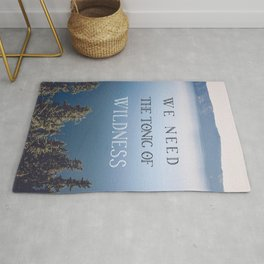 The Tonic of Wildness Rug