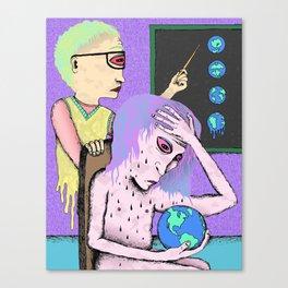 AP Earth Sucks Canvas Print