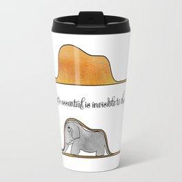 The Little Prince, a hat or an elephant? Travel Mug