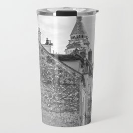 Sacre Coeur view Montmartre Paris Travel Mug