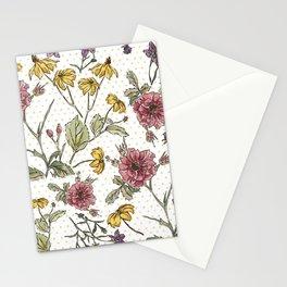 Primavera tardía Stationery Cards