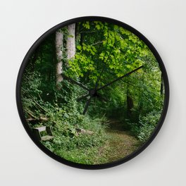 Relaxing in the Woods // Ohio Wall Clock