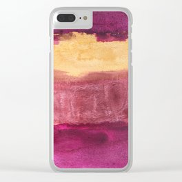 Color abstract 3 Clear iPhone Case