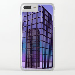 city -w5- Clear iPhone Case