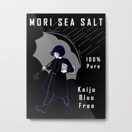 Mori Salt Metal Print