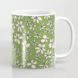 garland flowers green Coffee Mug