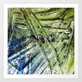Molten Glass Art Print