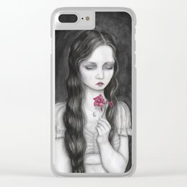 Oleander Clear iPhone Case