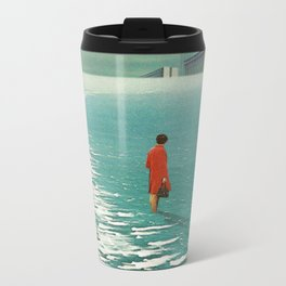 Waiting For The Cities To Fade Out Metal Travel Mug