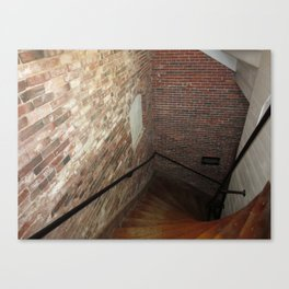 Mill Stairs Canvas Print