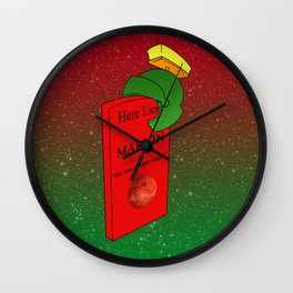 He was  always angry Wall Clock