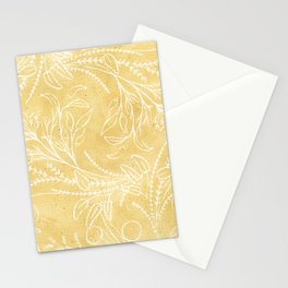 Add Spice to your Life: herb toss ochre Stationery Cards