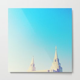 Kansas City Missouri Temple Metal Print